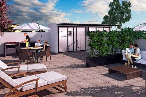Departamentos CDMX  Roof-garden-Miguel Angel de Quevedo 845