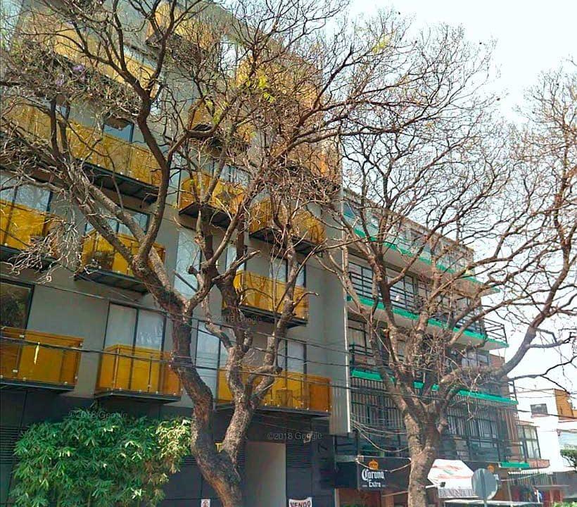 Vertiz-1117-fachada departamento cdmx