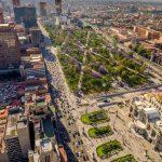 Mexico City departamentos vista aera