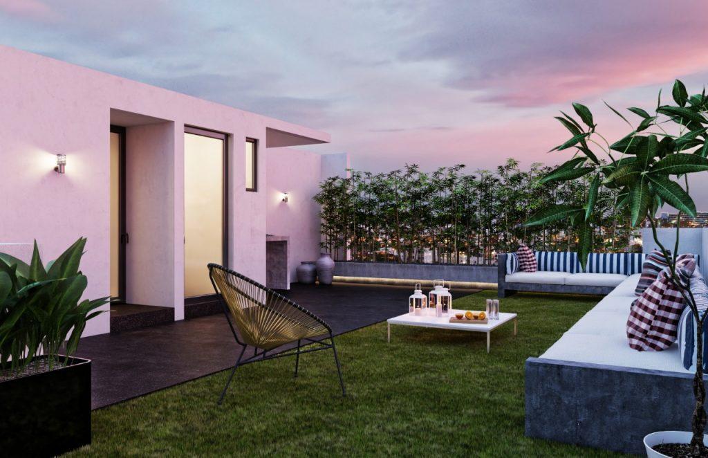 formas para aprovechar tu roof garden